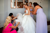Dressing the Bride